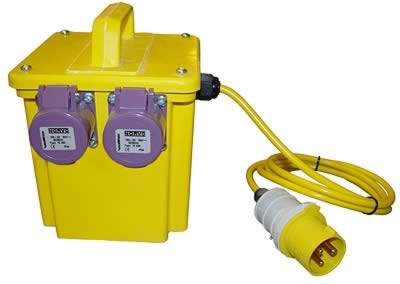 Low voltage portable Tool transformers