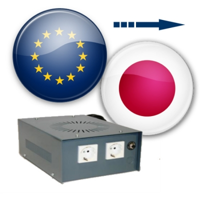Use European appliances in Japan