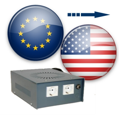 American Voltage Converters - Use US appliances in the UK