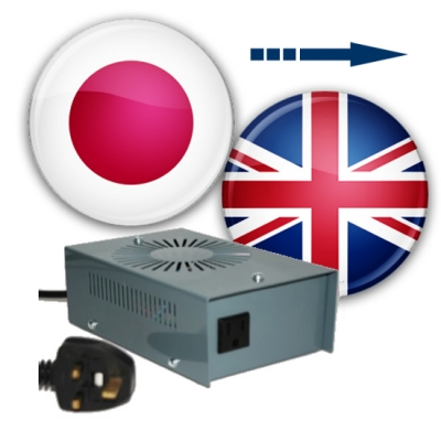 Use Japanese Appliances in The UK