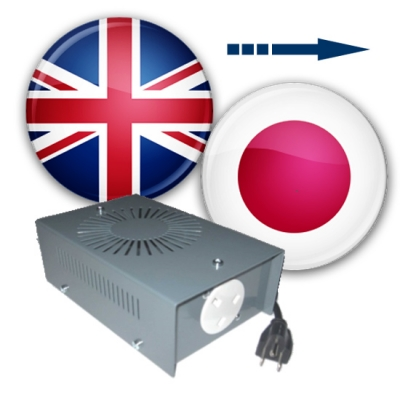 Use UK Appliances in Japan