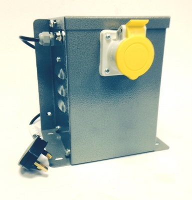 Low Cost 110v Workshop Transformer